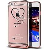 Coque Étui Case pour iPhone SE 5S 5,Bling Brillant Scintillant Glitter Diamant...