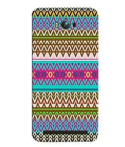 Citydreamz Colorful Shapes\Pattern Hard Polycarbonate Designer Back Case Cover For Asus Zenfone Max ZC550KL