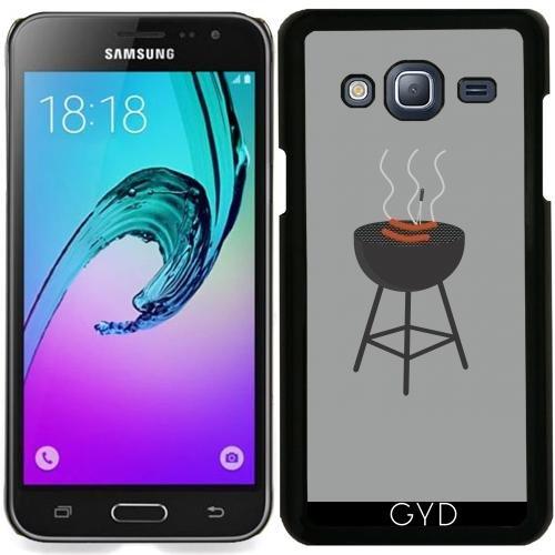 tArtists Hülle für Samsung Galaxy J3 2016 (SM-J320) - Grill Mit Würstchen by Ilovecotton ()