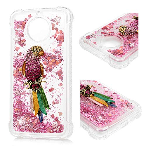 Phone Case Home Moto G6 Funda Bling Glitter Funda Sparkly Crystal Liquid...