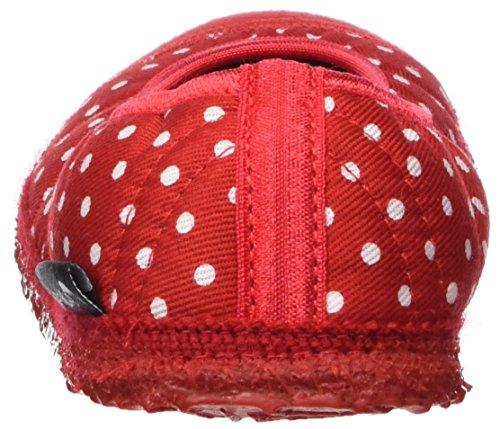 Nanga Damen Spitze Pantoffeln Rot (Rot)
