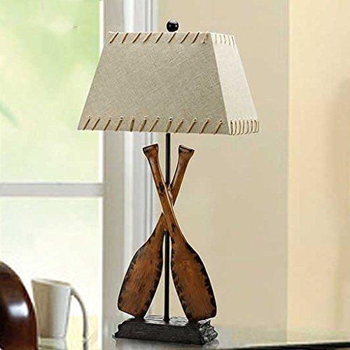 ZENGAI Kreative Tischlampe Schlafzimmer Nachttischlampe europäischen Modeschmuck Tischlampe Luxus Retro Tischlicht