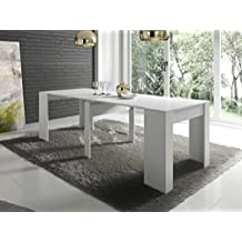 Mesa consola extensible for Mesas de comedor amazon