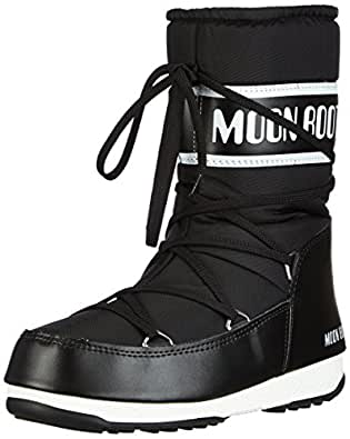 Moon Boot W.E. Sport Mid Scarpe sportive outdoor, Donna, Nero, 37