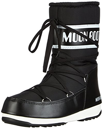 Moon Boot W.E. Sport Mid Scarpe sportive outdoor, Donna, Nero, 42
