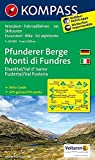 Pfunderer Berge/Monti di Fundres, Eisacktal/Val d'Isarco, Pustertal/Val Pusteria: Wanderkarte mit Aktiv Guide, Radrouten und Skitouren. GPS-genau. ... 1:25 000 (KOMPASS-Wanderkarten, Band 81)