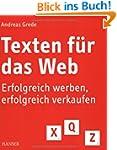 Texten für das Web: Erfolgreich werbe...