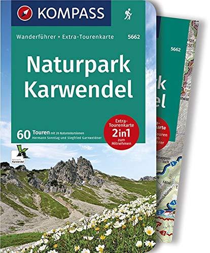 Naturpark Karwendel: Wanderführer mit Extra-Tourenkarte 1:35.000, 60 Touren, GPX-Daten zum Download. (KOMPASS-Wanderführer, Band 5662)