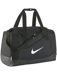Nike Club Team Swoosh Duff S - Bolsa para hombre, color negro / blanco, talla única