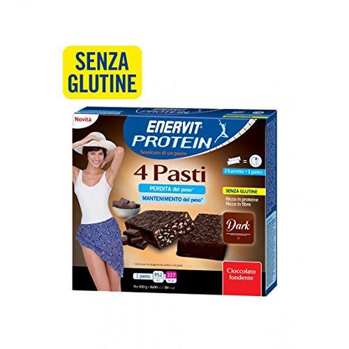 Enervit Protein 4 Pasti Gusto Dark Senza Glutine 8x30g