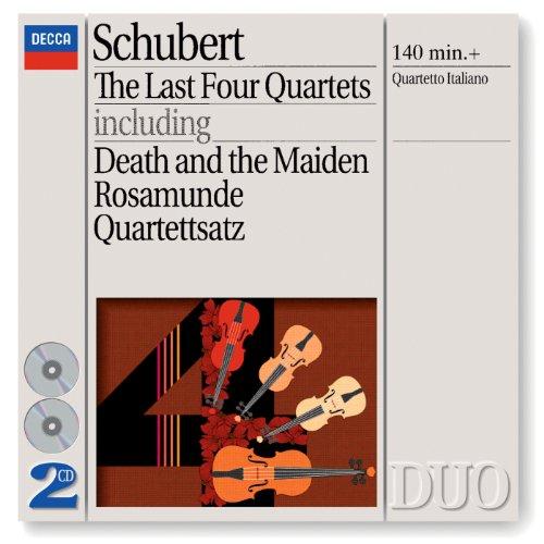 """Schubert: String Quartet No.12 in C minor, D.703 - """"Quartettsatz"""" - String Quartet No.12 in C Minor, D.703 - """"Quartettsatz"""""""
