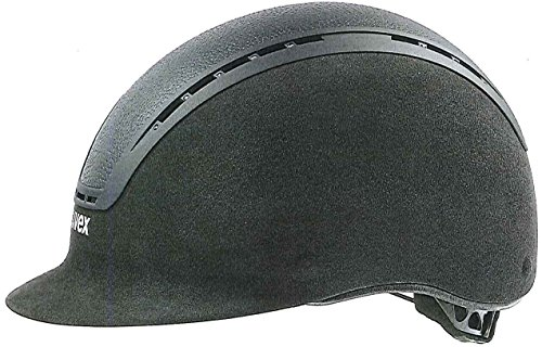 UVEX SUXXEED LUXURY Reithelm schwarz 55-56cm