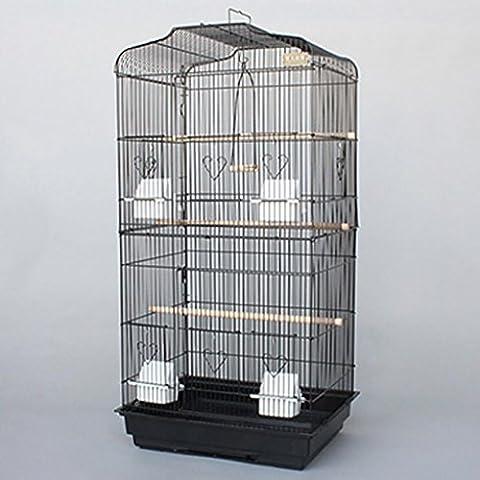 XWG Birdcage / Parrot Cage / Grande Birdcage / Starling Gabbia / grande gabbia per animali gabbia di metallo / Peony Myna ( colore : 1#