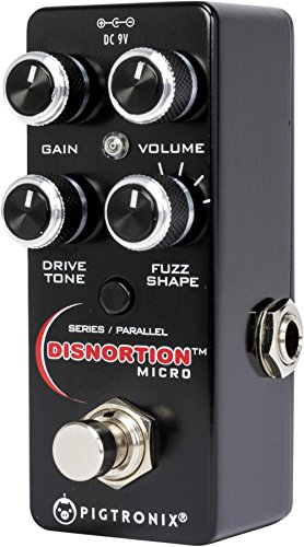PIGTRONIX PXOFM DISNORTION MICRO EFFECTS PEDAL