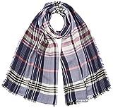 ESPRIT Accessoires Damen Schal 088EA1Q009, Blau (Navy 400), One Size