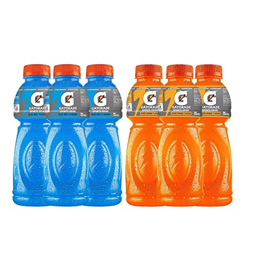 Gatorade Sports Drink 500ml (3 Bottles of Blue Bolt, 3...