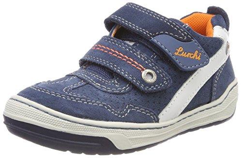 Lurchi Jungen Bruce Sneaker, Blau (Jeans 34), 30 EU
