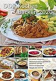 Wochenkalender DDR Kochen - Backen 2020