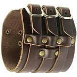 SilberDream Lederarmband braun Herren Leder Armband Echtleder LA1772 - 3