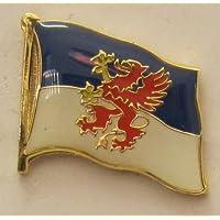 Flaggen Pin Pommern Pins Anstecknadel Fahne Flagge FLAGGENMAE/®