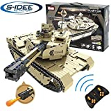 s-idee 9801 RC Militär Bausteinpanzer mit Fernsteuerung Qihui RC Panzer ferngesteuert mit...