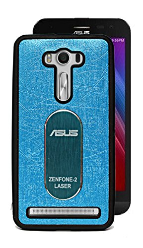 ECellstreet Exclusive Rubbersied Soft Back Case Cover Back Cover For Asus Zenfone 2 Laser 5.0 (5 inches) ZE500KL - Light Blue  available at amazon for Rs.149