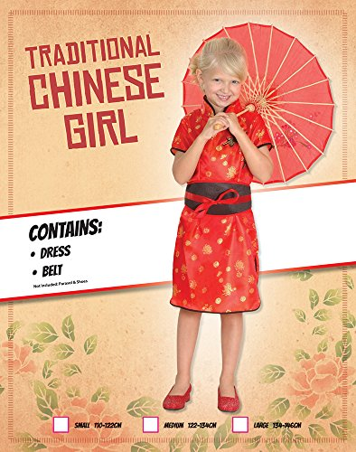 Imagen de disfraz de niña de china oriental. 3  5 años alternativa