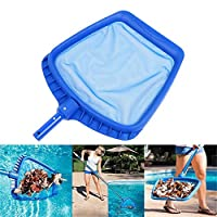 HELLOO HOME Leaf Skimmer,Swimming Pool Cleaning Tool,Heavy Duty Plastic Swimming Pool Spa Hot Tub Pond Clean NetFrame Cleaning Tool