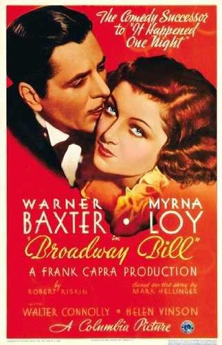 Poster (27,94 x 43,18 cm) (Broadway Bill-movie Poster)