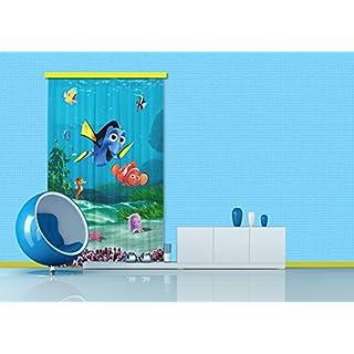 AG Design Gardine/Vorhang FCS L 7108 Disney, Nemo, 140 x 245 cm, 1-teilig