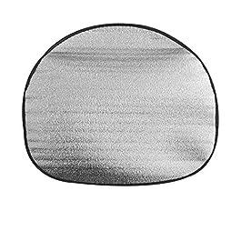 addensare cotone anti Automotive volante auto parasole copertura di colore argento