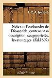 Note Sur L'Orobanche de Dioscoride, Contenant Sa Description, Ses Proprietes: Les Avantages Qu'on Peut Retirer de Sa Culture, La Preuve Que Cette Plante N'Est Point Parasite (Litterature)