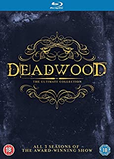 DEADWOOD The Ultimate Collection [Blu-ray] [Region Free] (B00OMHHOX8) | Amazon price tracker / tracking, Amazon price history charts, Amazon price watches, Amazon price drop alerts