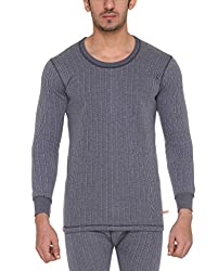 Vimal Winter King Blended Navy Blue Mens Thermal Top