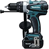 Makita DHP458RME 18V 16mm Cordless Li-Ion Compact 2-Speed Combi Drill with 2 x 4Ah Batteries
