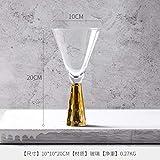 teapotty Becher, Kelch, Champagner, Bar, Familiencocktailglas, Goldene Rotweinschale