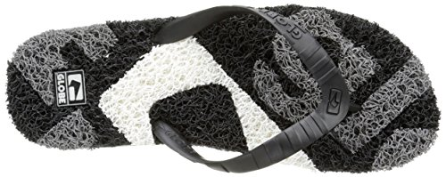 GlobeMerkin-Matrix - Sandali infradito Unisex – Adulto Nero (Schwarz (black/grey/white))