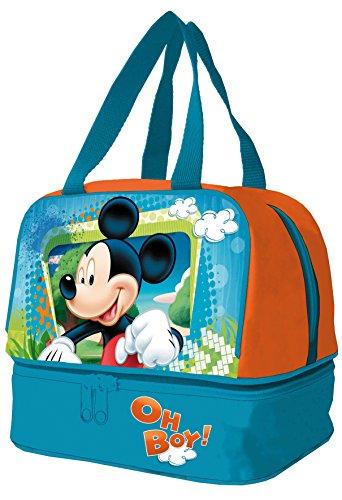 Arditex - 009117 - Sac À Picnic - Mickey Mouse - 20 X 14,5 X 18,5 Cm