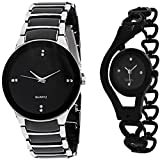 #8: BLUE DIAMOND Analogue Black Dial Men's & Women's Watch - 5448645645