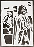Darth Vader STAR WARS Poster Plakat Handmade Graffiti Street Art - Artwork