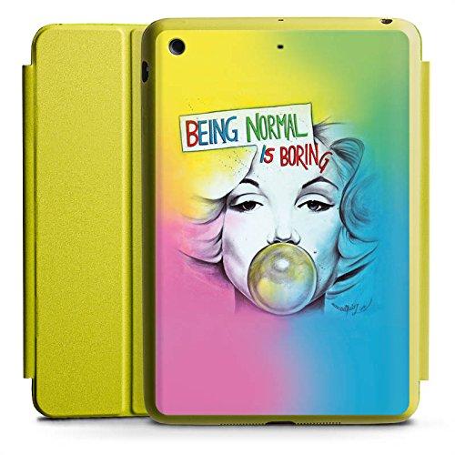d Mini 4 Smart Case Limette Hülle mit Ständer Schutzhülle Marilyn Monroe Star Sayings ()