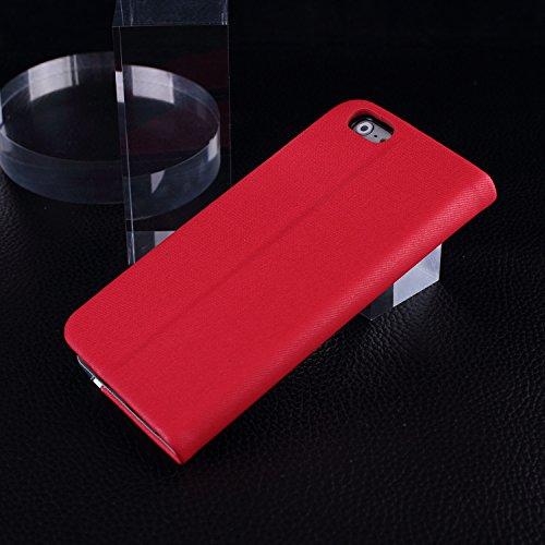 iPhone 6 6s Hit Cover Case Color, Folio Stand Case Avec fente pour carte Housse en cuir PU pour iPhone 6 6s ( Color : 1 , Size : IHPONE 6G ) 2
