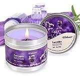 Aceite de masaje corporal para mujeres y hombres, vela de masaje y lavanda de aceite caliente...
