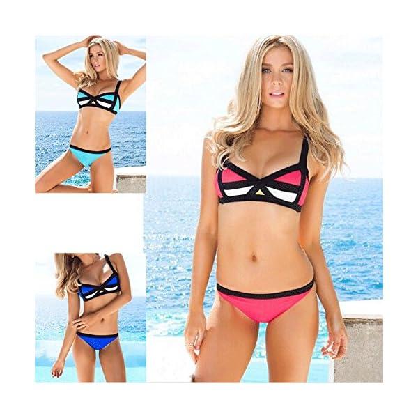 XING GUANG Bikini New Europe Et Les États-Unis Sexy Couleurs Mélangées Maillot De Bain Dames Maillots De Bain