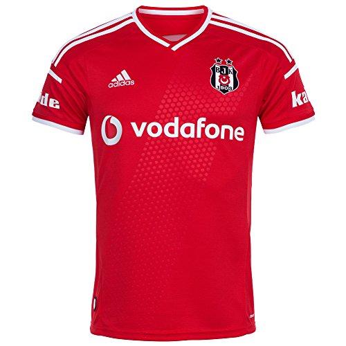 2014-2015 Besiktas Adidas Third Football Shirt Red