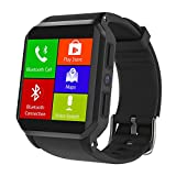 HAIT Smart Watch Andrews 3G Square Schermo IP68 Impermeabile Profondo Gps Frequenza Cardiaca In Tempo Reale 512 + 8GB,Black