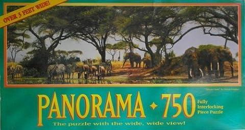 African Oasis Panorama 750 Piece