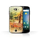 Stuff4 Phone Case for Acer Liquid Z530 Autumn Fashion Park