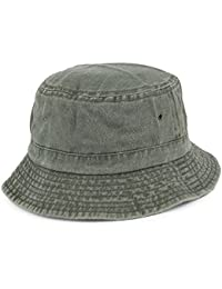 Village Hats Packable Cotton Bucket Hat - Olive 0f2158d95ce5