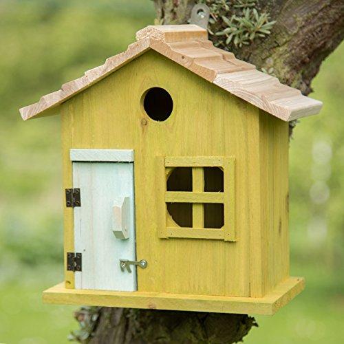 Relaxdays 10020735 53 Nido Artificiale Casetta Per Uccellini Porta